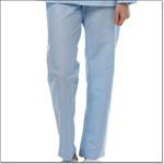Superior Uniform Group 7830 Light Blue Broadcloth Elastic Waist Pajama Pants