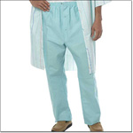 Superior Uniform Group 7854 Aqua Sheeting Elastic Waist Pajama Pants