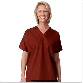 Superior Uniform Group 78783 Unisex Spice FP Fashion Scrub Shirt