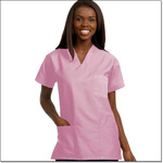 Superior Uniform Group 78788 Unisex Prettypink FP Fashion Scrub Shirt