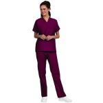 Superior Uniform Group 78790 Unisex Burgundy Fashion Scrub Shirts