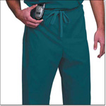 Superior Uniform Group 78834 Unisex FP Dark Teal Fashion Scrub Pants