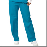 Superior Uniform Group 78879 Unisex Pacific Blue FP Fash Scrub Pant
