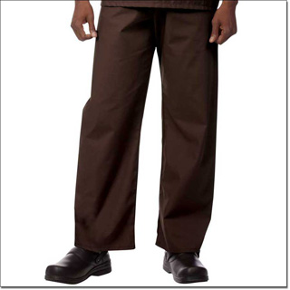 Superior Uniform Group 78887 Unisex FP Chocolate Fashion Scrub Pants