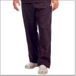 Superior Uniform Group 78893 Unisex Eggplant FP Long Scrub Pant