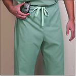 Superior Uniform Group 78895 Unisex Sage FP Long Scrub Pant