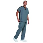 Superior Uniform Group 78896 Unisex Pewter Fashion Scrub Pants