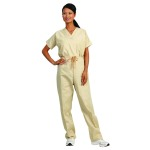 Superior Uniform Group 78898 Unisex Tan Fashion Scrub Pants