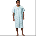 Superior Uniform Group 790 Sparkler Full Back Patient Gown/Ties