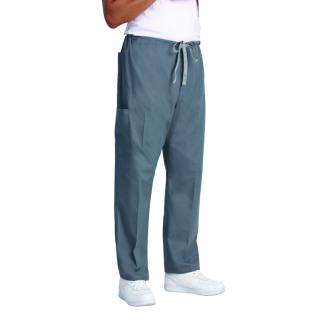 Superior Uniform Group 7929 7929 Unisex Pewter Fashion Cargo Scrub Pants