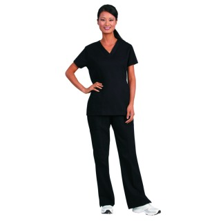 Superior Uniform Group 7978 7978 Unisex Black Fashion Cargo Scrub Pants
