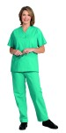 Superior Uniform Group 832 Unisex Teal Long Inseam Drawcord Scrub Pants