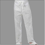 Superior Uniform Group 856 Crystal Print DCord PJ Pants