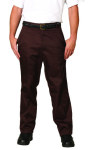 Superior Uniform Group 892 Mens Brown Twill Work Pants