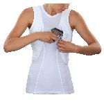 511 Tactical 30012 Women' S Sleeveless Holster Shirt