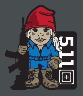 511 Tactical 31002AD Miss Tactical Gnome T-Shirt