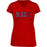 511 Tactical 31004AG Miss Independence T-Shirt