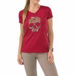 511 Tactical 31004AP Women'S Skull Caliber T-Shirt