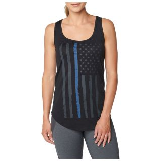5.11 Tactical 31150P 5.11 Tactical Womens Thin Blue Line Tank