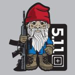 5.11 Tactical 41006BC S/S LOGO T-Tactical Gnome