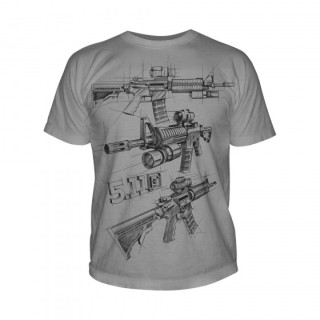 511 Tactical 41006CD Ar Sketch T-Shirt