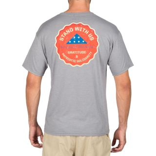 511 Tactical 41191AU Stand With Us T-Shirt