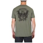 511 Tactical 41191RR 5.11 Tactical Mens Banners And Bayonets Tee