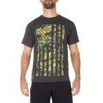 511 Tactical 41195GX 5.11 Tactical Men'S Camo Flag Tee