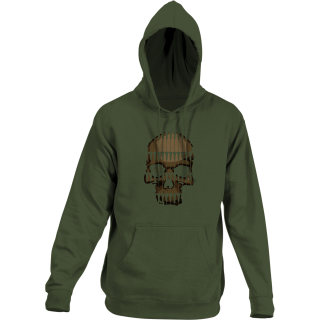511 Tactical 42182AE Bullet Skull Hoodie