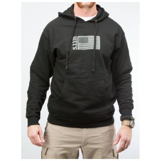 511 Tactical 42182AF Embroidered Flag Hoodie