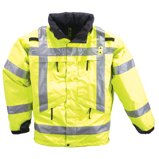 511 Tactical 48033 3-In-1 Reversible High-Visibility Parka