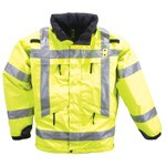 511 Tactical 48033 5.11 Tactical 3-In-1 Reversible High-Visibility Parka Jacket