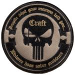 Craft Round Patch