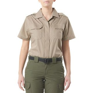 511 Tactical 61022US 5.11 Tactical Womens Cdcr Womens Short Sleeve Duty Shirt