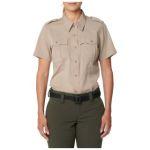 511 Tactical 61315 5.11 Tactical Womens Womens Class A Flex Tac Poly/Wool Twill Short Sleeve Shirt