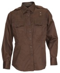 511 Tactical 62068W Twill PDU Shirt - B Class - Women's - Long Sleeve