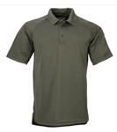 Mens Performance Polo Short Sleeve, Synthetic Knit Optional Embroidered Name (+$9.95)