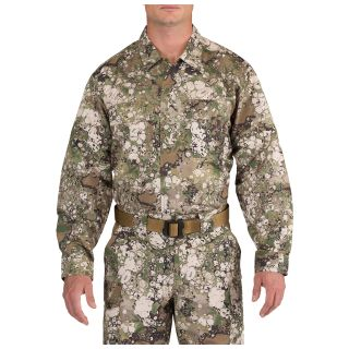 511 Tactical 72465G7 5.11 Tactical Men'S Geo7™ Fast-Tac Tdu Long Sleeve Shirt