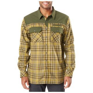 511 Tactical 72468 5.11 Tactical Mens Endeavor Long Sleeve Flannel Shirt