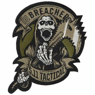 511 Tactical 81019 Breacher Patch
