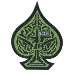 511 Tactical 81025 Spade Patch