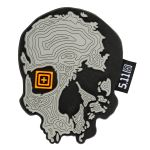 511 Tactical 81080 Topo Skull Patch