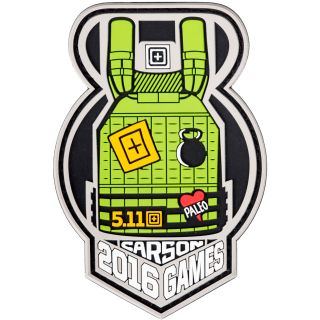 511 Tactical 81083 Kettle Bomb Patch