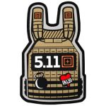 511 Tactical 81238 Plate Carrier Patch