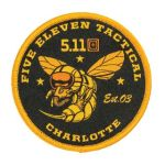 511 Tactical 81270 5.11 Tactical Charlotte Hornet Patch