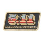 511 Tactical 81376 5.11 Tactical Freedom Forever Patch