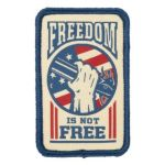 511 Tactical 81419 5.11 Tactical Freedom Is Not Free Patch