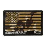 511 Tactical 81433 5.11 Tactical Camo American Flag Patch