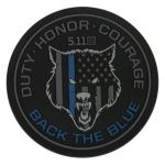 511 Tactical 81450 5.11 Tactical Back The Blue Patch