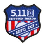 511 Tactical 81487 5.11 Tactical Mission Ready Patch